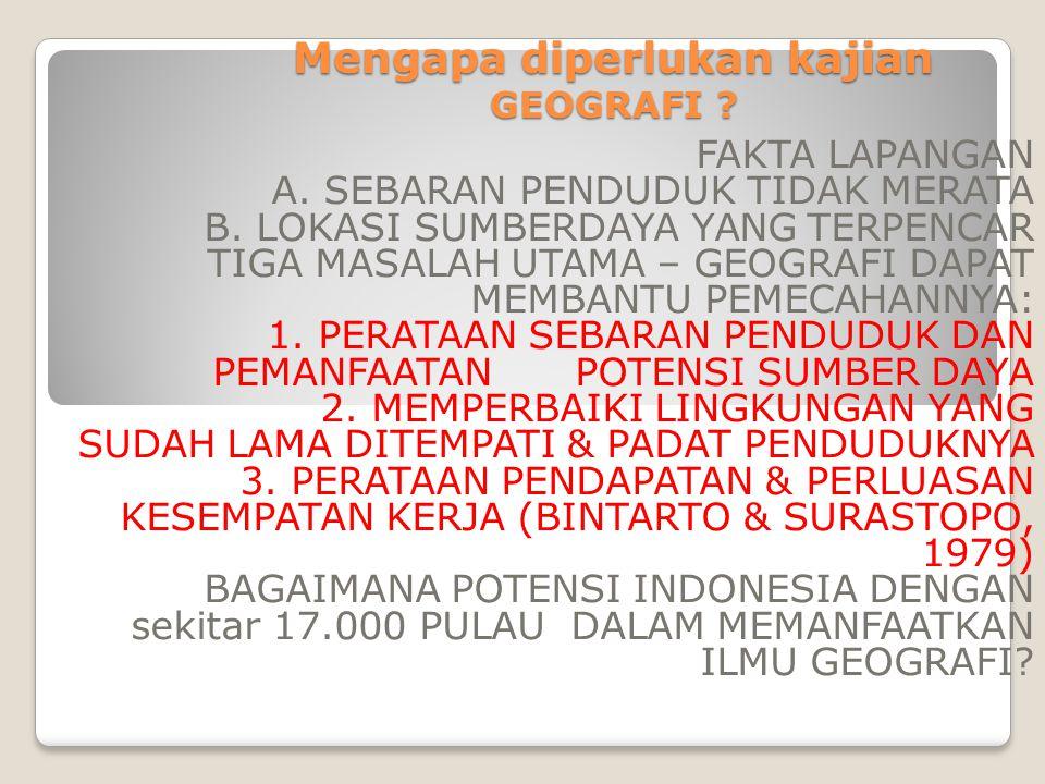 2.Prinsip Interelasi Gejala,fakta geografi dijelaskan hubungannya satu sama lain.