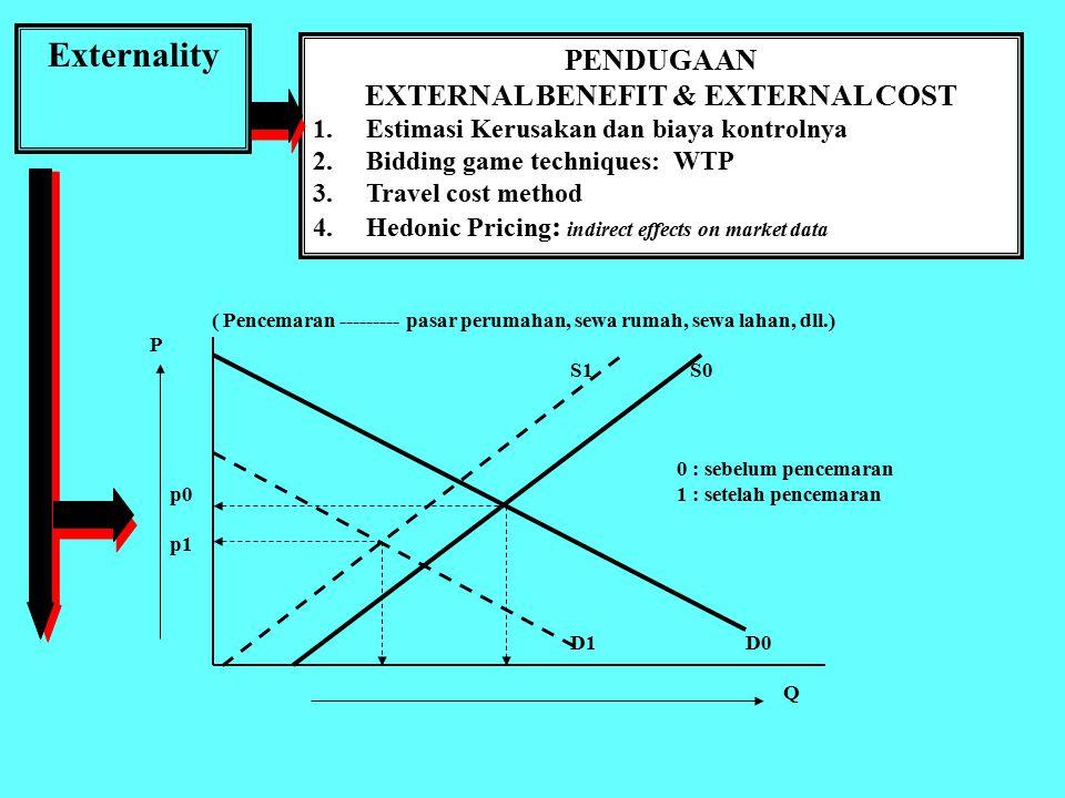 p, C Marginal Social Cost Demand Marginal Private Cost p2 S p0 P Marginal External Cost q1 q2 q0 Quantity