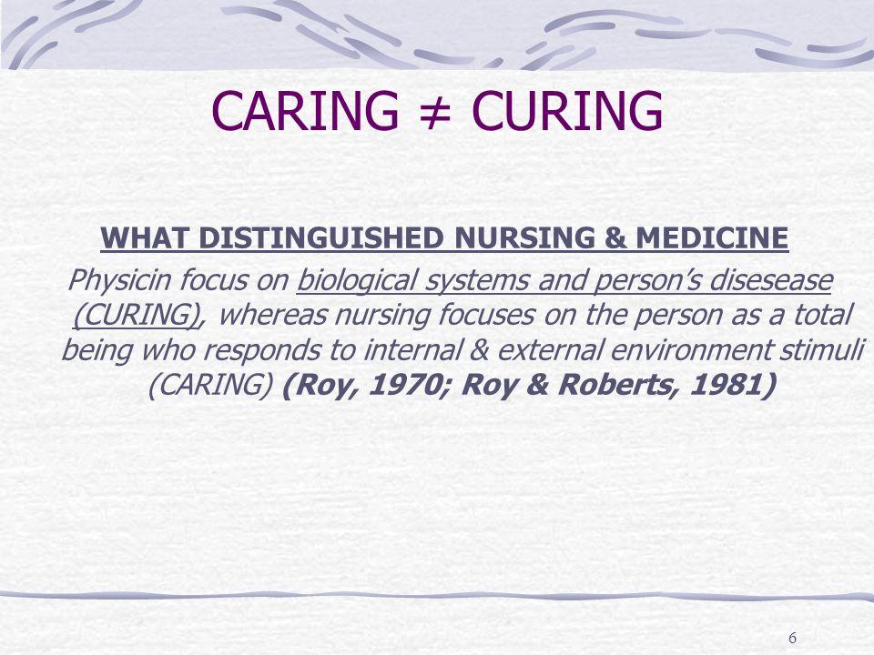 7 PRAKTIK PERAWAT Pemberian Asuhan Keperawatan Pengkajian s/d evaluasi dan dokumentasi Bentuk / Model : * Praktik di RS * Praktik dirumah (home care) * Praktik berkelompok (nursing home) * Praktik perorangan (individual practice)