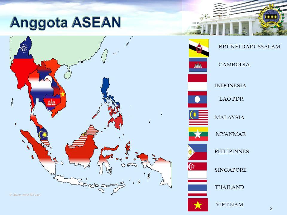 INDONESIA THAILAND MALAYSIASINGAPORE PHILIPINNES BRUNEI DARUSSALAM VIET NAM LAO PDR MYANMAR CAMBODIA 2