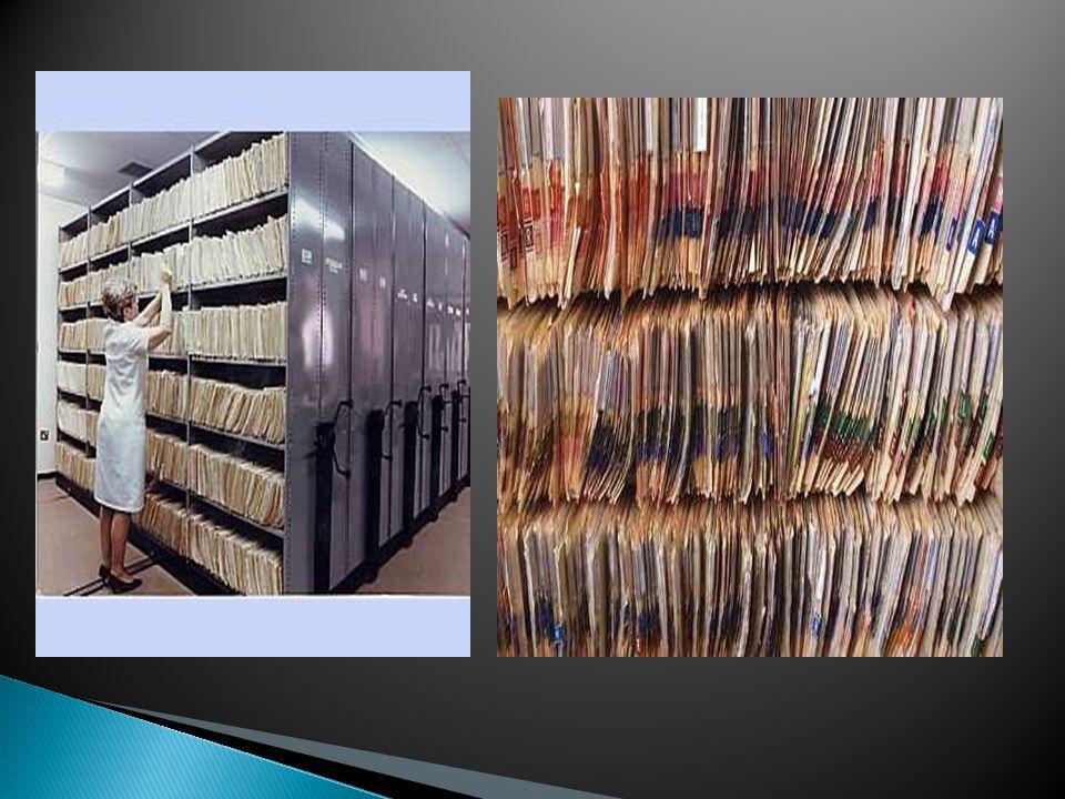 1. Rekam Medis Konvensional (paper based documents) lembar administrasi dan medis yang diolah, ditata dan disimpan secara manual 2. Rekam medis manual