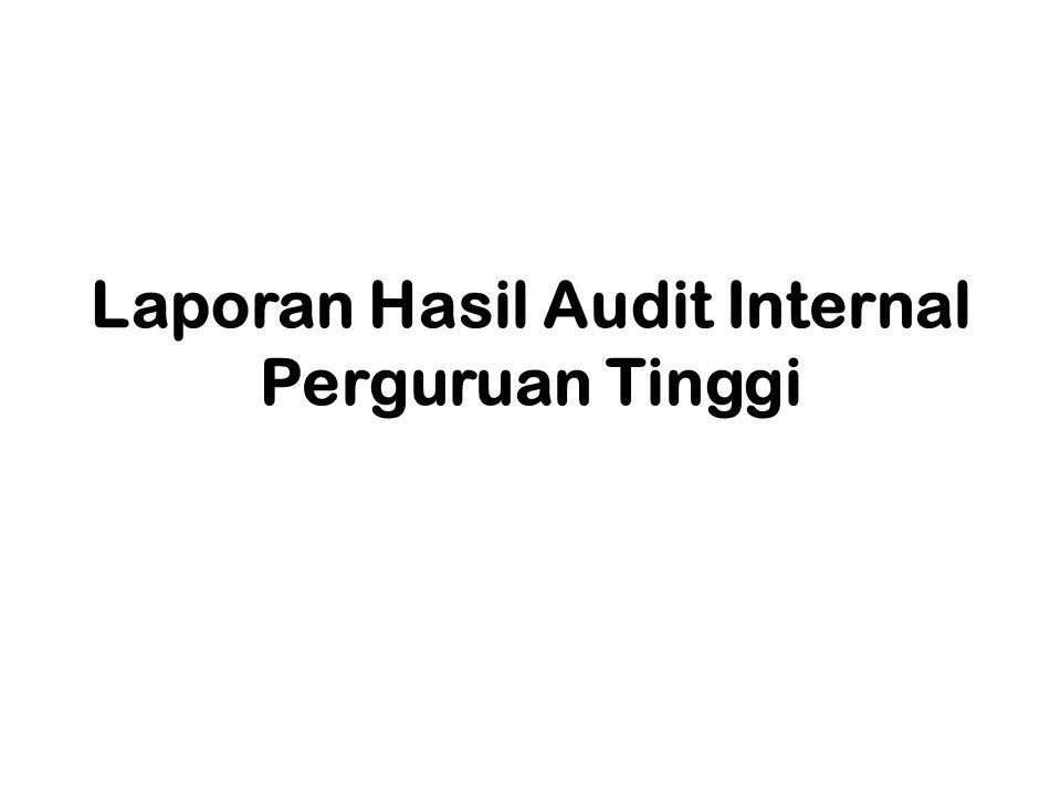 PELAPORAN õDokumentasi & komunikasi hasil audit õProduk dari penugasan audit õTemuan dan rekomendasi õDitandatangani oleh auditor yang telah bersertifikat