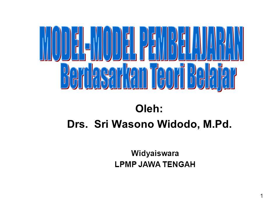 1 Oleh: Drs. Sri Wasono Widodo, M.Pd. Widyaiswara LPMP JAWA TENGAH