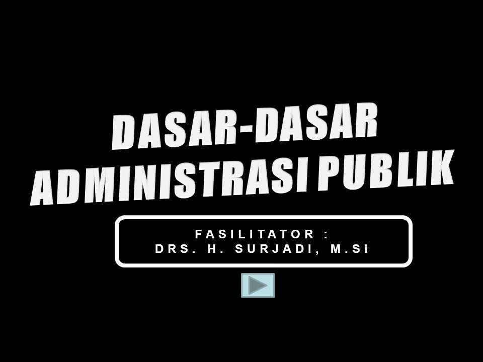 FASILITATOR : DRS. H. SURJADI, M.Si 2Drs. Surjadi, M.Si - Widyaiswara Utama Bandiklat Prov. Jatim