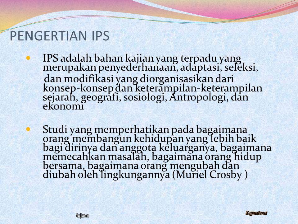 Arah Pendidikan Nasional (UU No. 20 Th 2003) Mengembangkan potensi peserta didik dalam rangka membangun watak dan peradaban manusia Indonesia yang ber