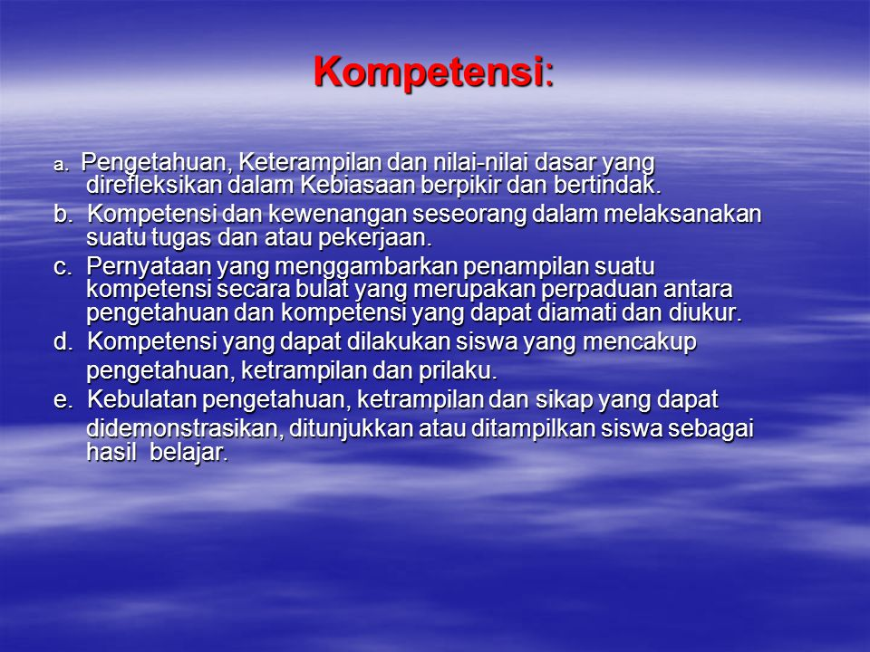 TUJUAN PEMBELAJARAN IPS  Membentuk peserta didik –Menjadi warga negara yang baik –Mampu berfikir untuk memahami, menyikapi, beradaptasi, dan memecahkan masalah sosial (peka terhadap masalah sosial yang ada di masyarakat, memiliki sikap mental positif terhadap perbaikan segala ketimpangan yang terjadi dan melatih keterampilan untuk mengatasi setiap masalah yang terjadi baik yang menimpa diri sendiri atau masyarakat) –Memahami, mewarisi dan mengembangkan kebudayaan bangsa Indonesia