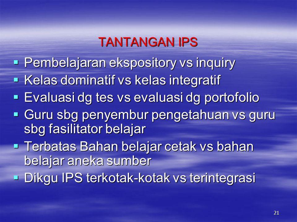 Maksud Pembelajaran IPS Mewujudkan pelaku-pelaku sosial yang memiliki karakteristik berdimensi:  Personal ( misal: berakhlak mulia, disiplin, kerja k