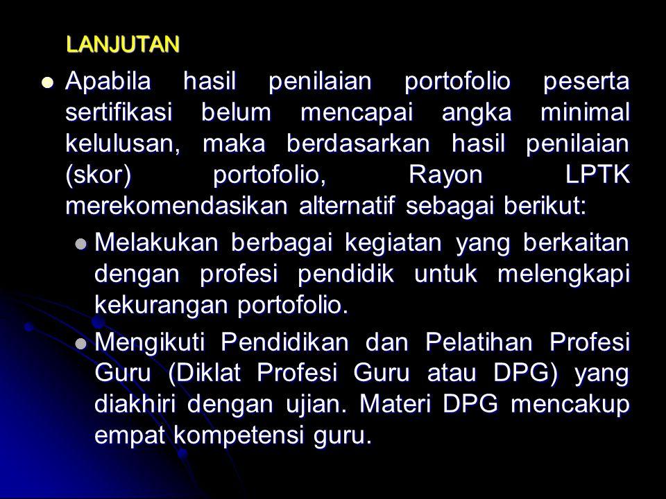 PENJELASAN Rayon LPTK Penyelengara Sertifikasi terdiri atas LPTK Induk dan sejumlah LPTK Mitra. Rayon LPTK Penyelengara Sertifikasi terdiri atas LPTK