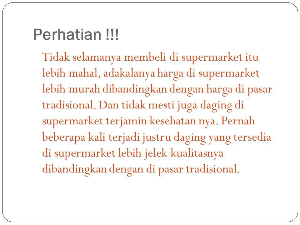 Perhatian !!.