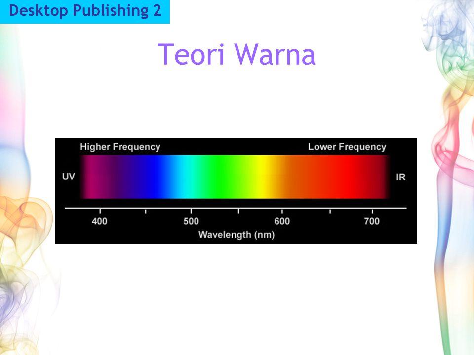 Teori Warna Desktop Publishing 2
