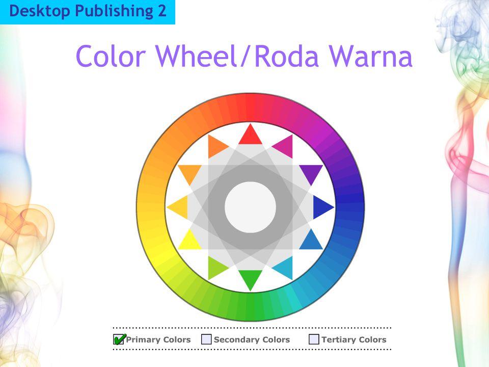 Color Wheel/Roda Warna Desktop Publishing 2