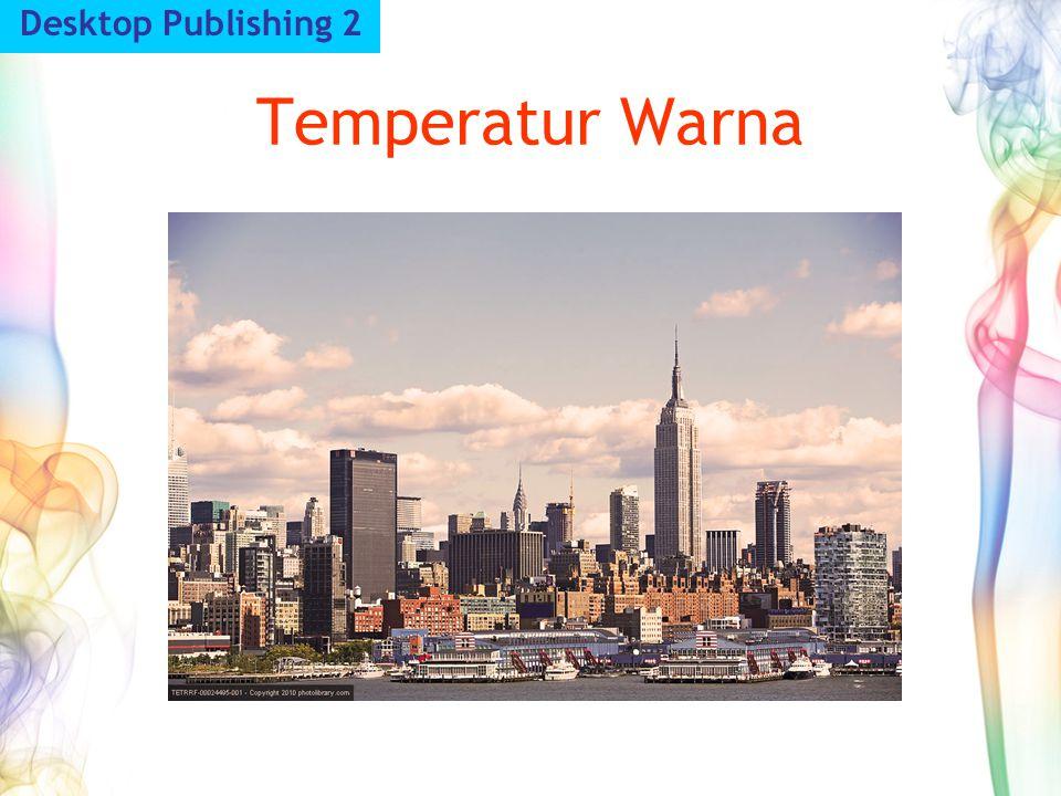 Temperatur Warna Desktop Publishing 2