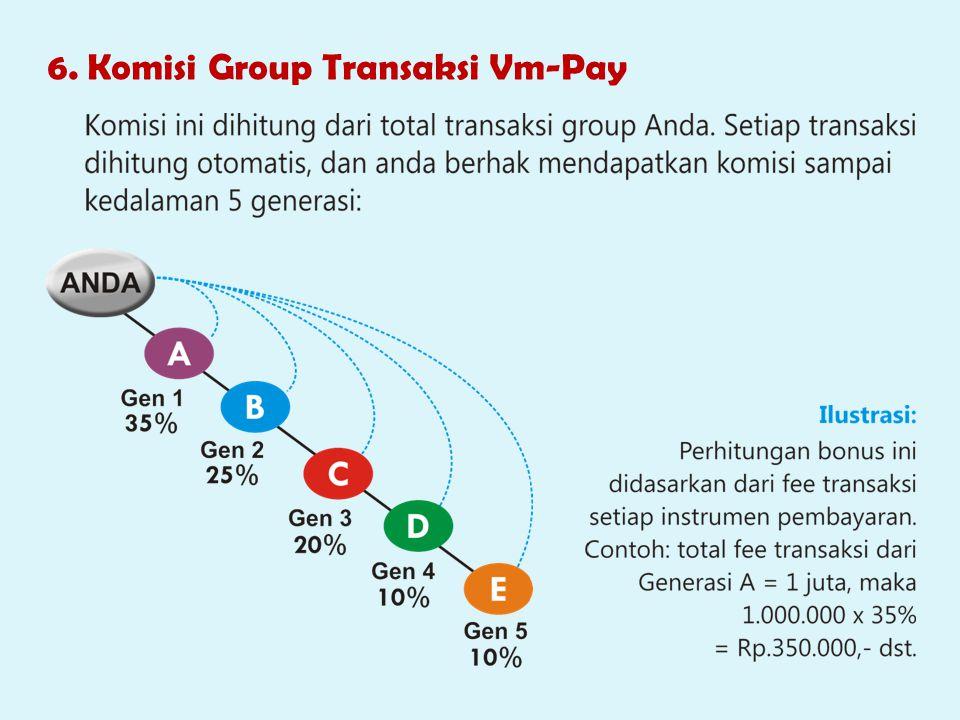 6. Komisi Group Transaksi Vm-Pay