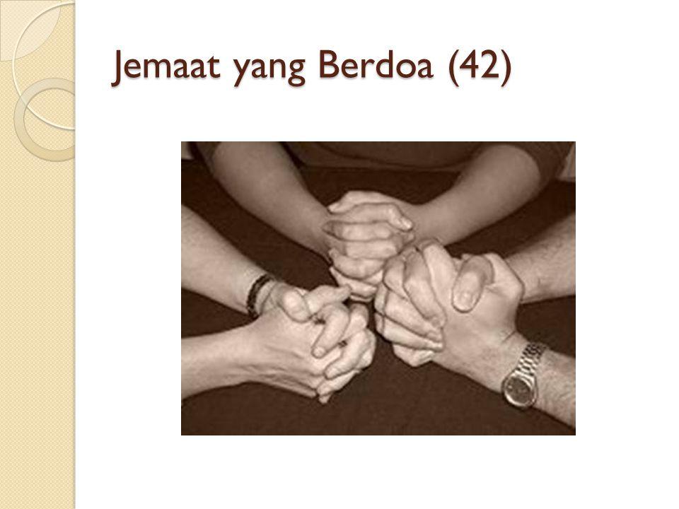 Jemaat yang Berdoa (42)