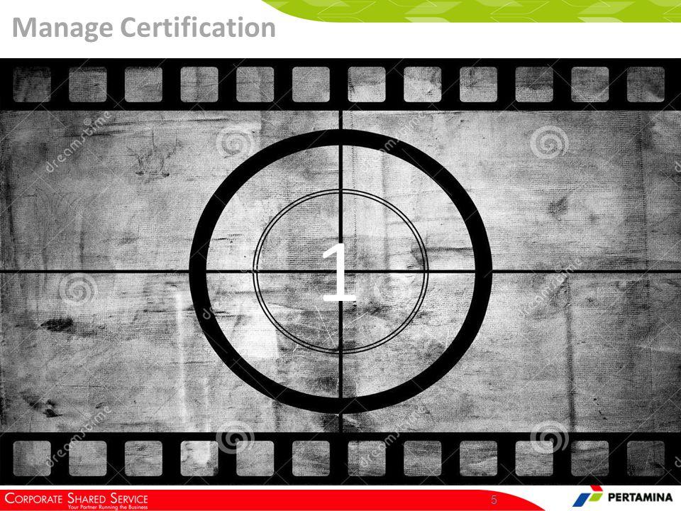 6 Klik Vendor Management >> HSE Certification >> Manage Certification Click Here