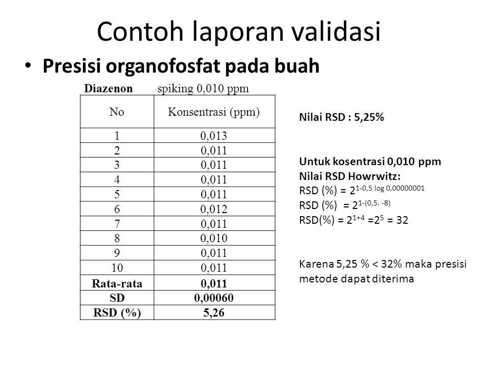 Resolusi Digunakan untuk mengukur derajat pemisahan dari 2 komponen.