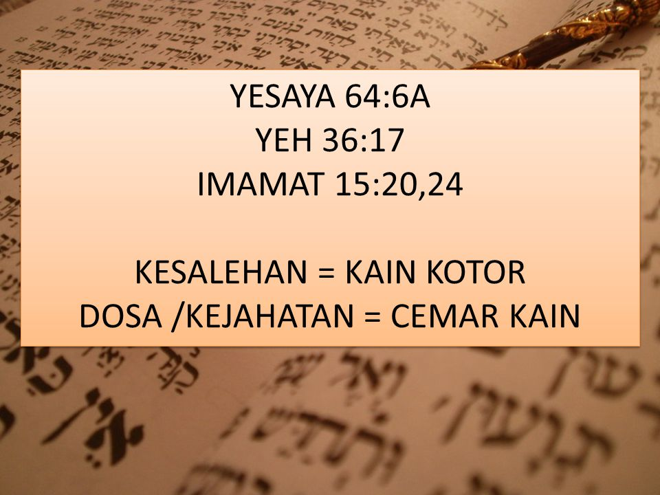 Kata KESALAHAN / AVON yang ada di Keluaran 28: 38, berarti: Kesalahan, dosa, kejahatan, hukuman, kedurjanaan, penghakiman, berlaku salah, berbuat salah, mendengki, noda, pelanggaran, kesengsaraan.