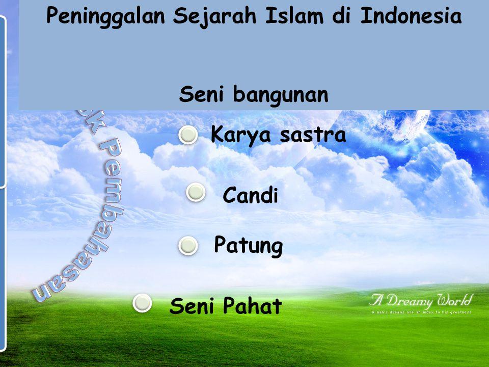 Ciri-Ciri Kerajaan Islam Sistem Pemerintahan ♥Kekuasaan pemerintahan dipegang oleh raja dan kaum bangsawan ♥Jabatan raja biasanya diperoleh secara tur