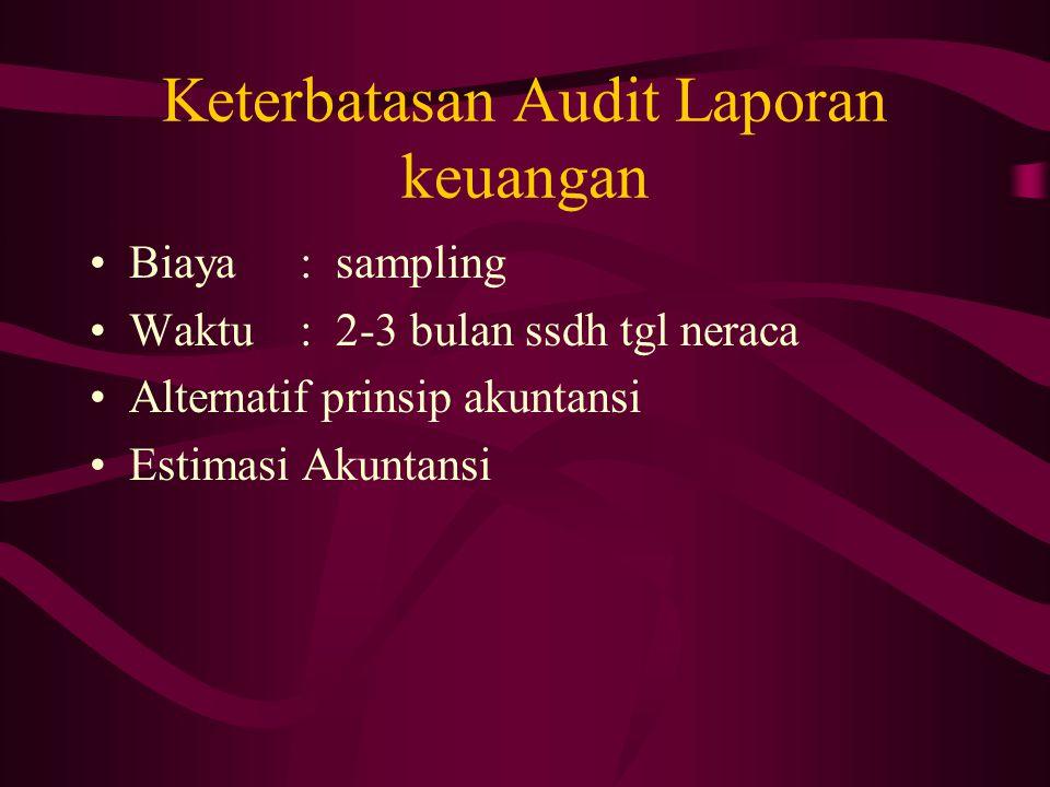 Hubungan Auditor Independen Manajemen Dewan Komisaris dan Komite Audit Auditor Internal Pemegang saham