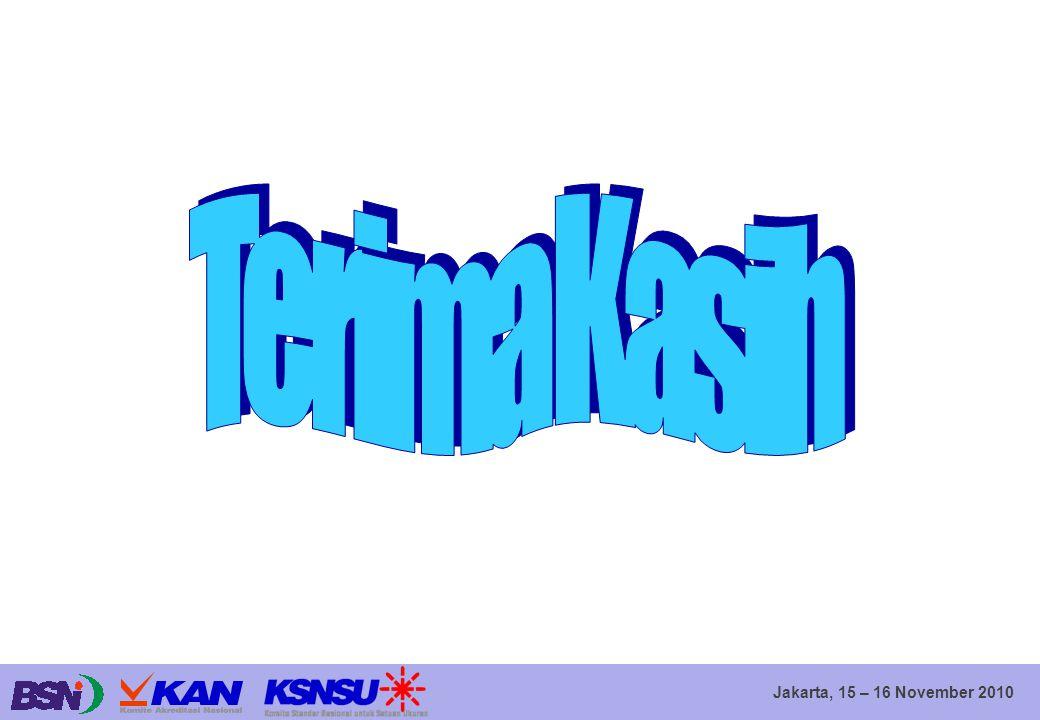 Jakarta, 15 – 16 November 2010