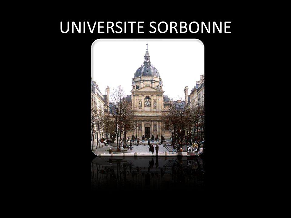 UNIVERSITE SORBONNE