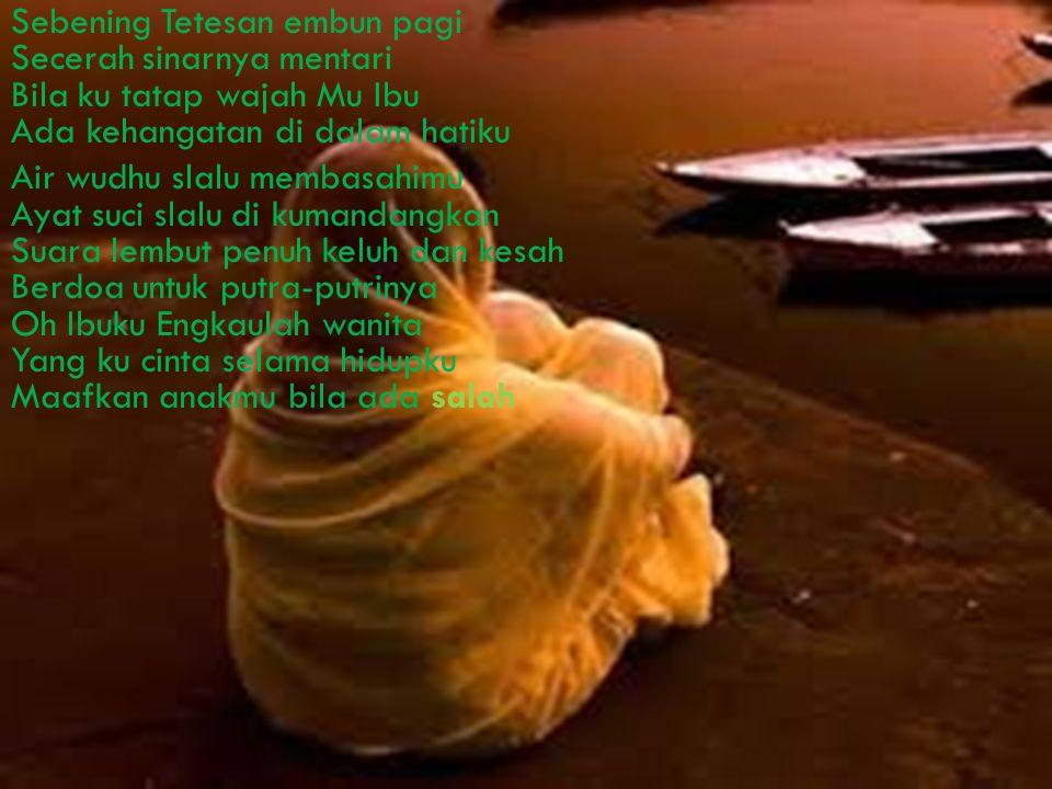 SANG MATAHARI PAGI.. Karya : Putri Rahma Amalia ^_^