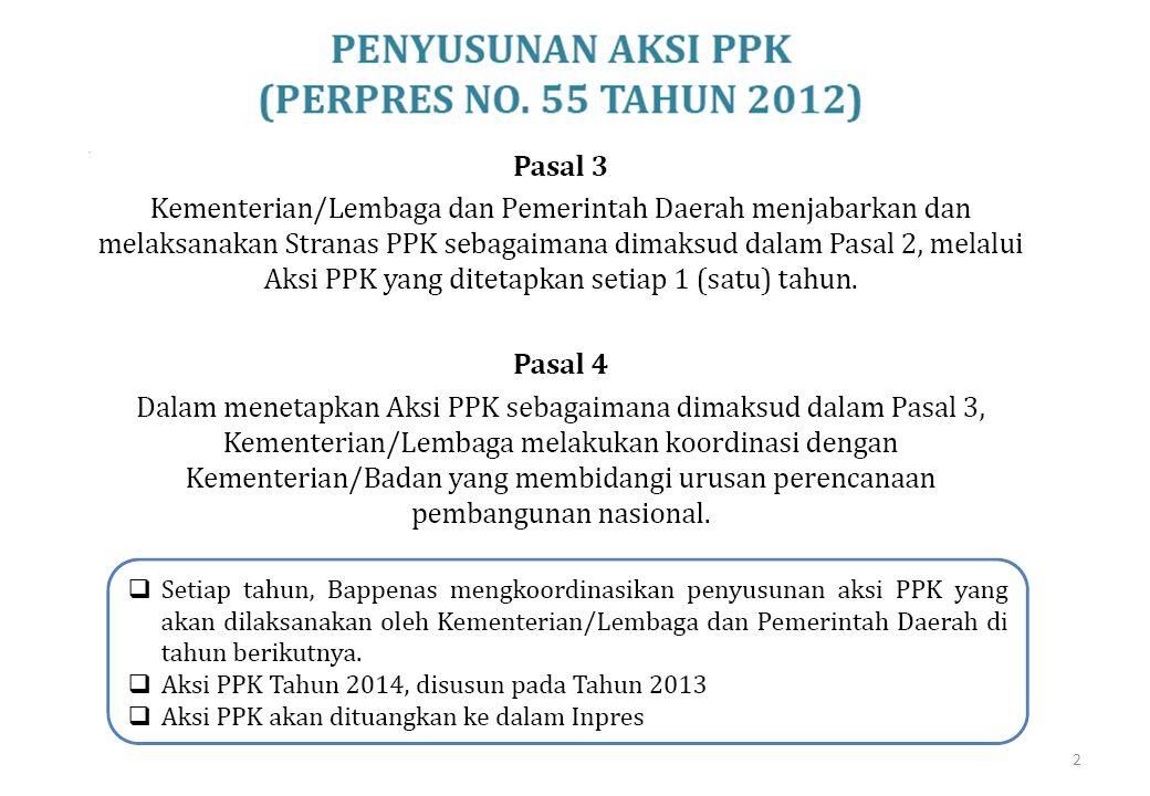 3 Telah disampaikan melalui Surat Sesmenpera Nomor 633/SM/HK.04.03/10/2013 pada Tanggal 8 Oktober 2013 kepada Bappenas