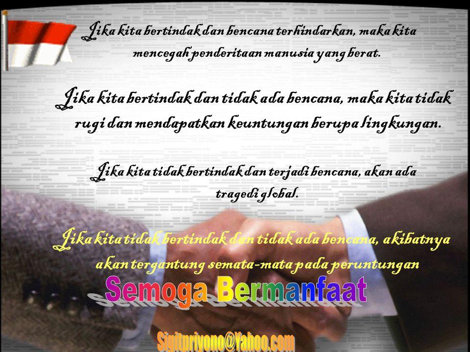 1.Informasi adanya nelayan Di perairan teluk Bunaken 09.50 2.