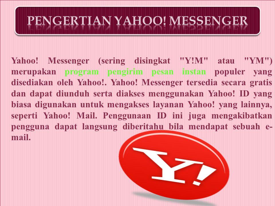  Mengaktifkan Yahoo.
