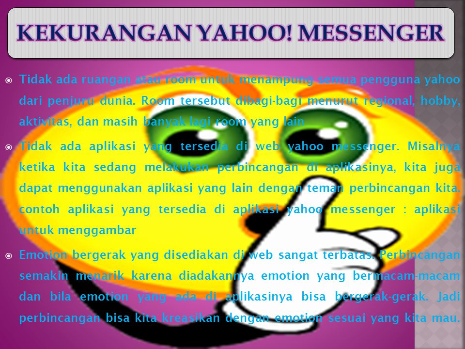 g)Pilih direktori tujuan kemana Yahoo.