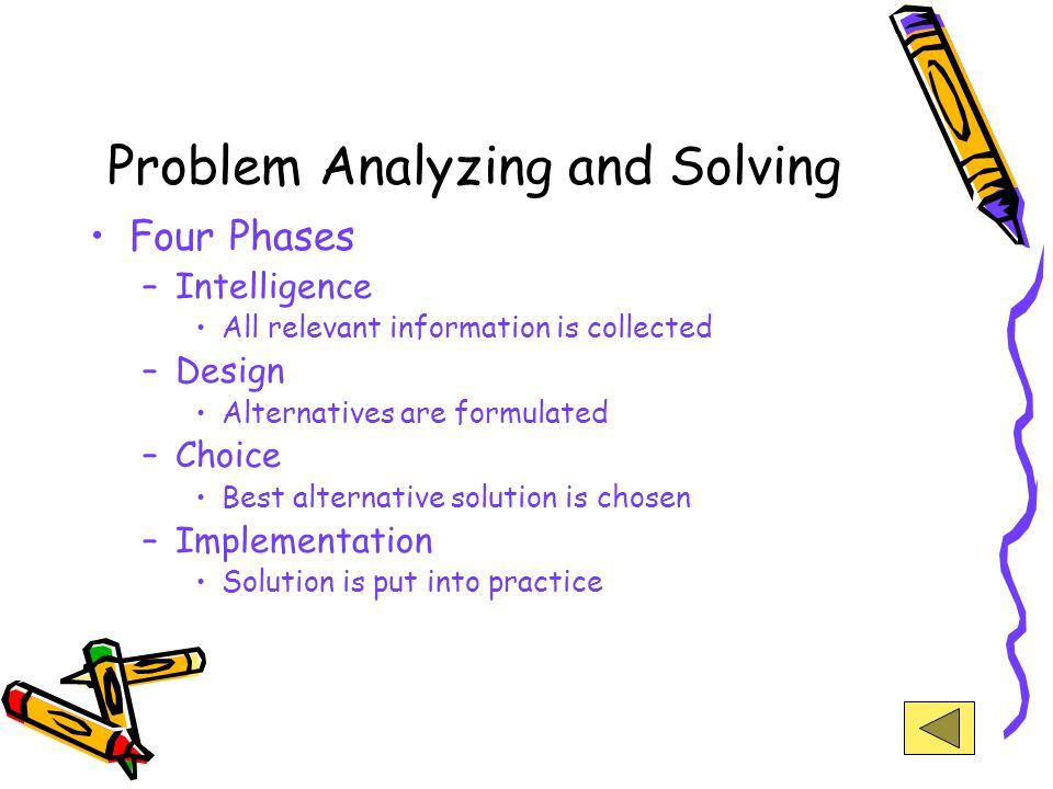 Problem Identification Problem: perbedaan antara situasi yang ada dengan situasi yang diharapkan Identifikasi adalah suatu proses untuk mendefinisikan