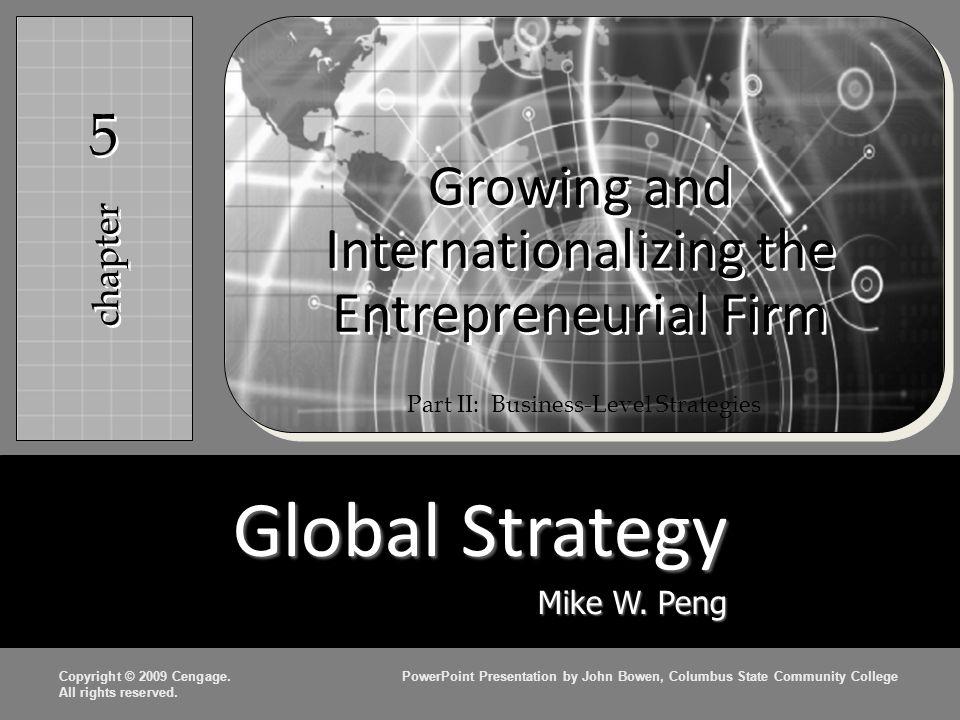 Innovation Strategi inovasi adalah bentuk strategi diferensiasi khusus Keuntungan dari strategi inovasi – Menciptakan keunggulan kompetitif yang lebih berkelanjutan  Teknologi dan Inovasi Organisasi – Pemilik, manajer, dan bekerja di perusahaan- perusahaan kewirausahaan yang lebih inovatif dan berani mengambil risiko dibandingkan mereka di perusahaan besar