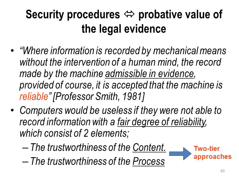 Alat bukti Elektronik IE dan/atau DE dan/atau hasil cetaknya merupakan alat bukti hukum yang sah.