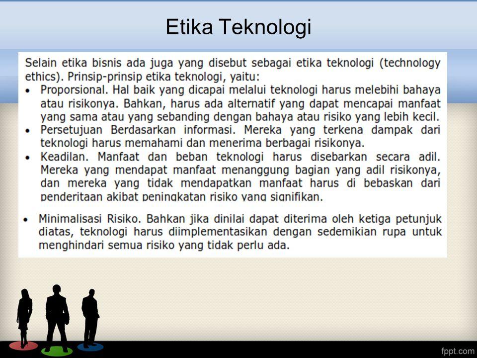 Etika Teknologi