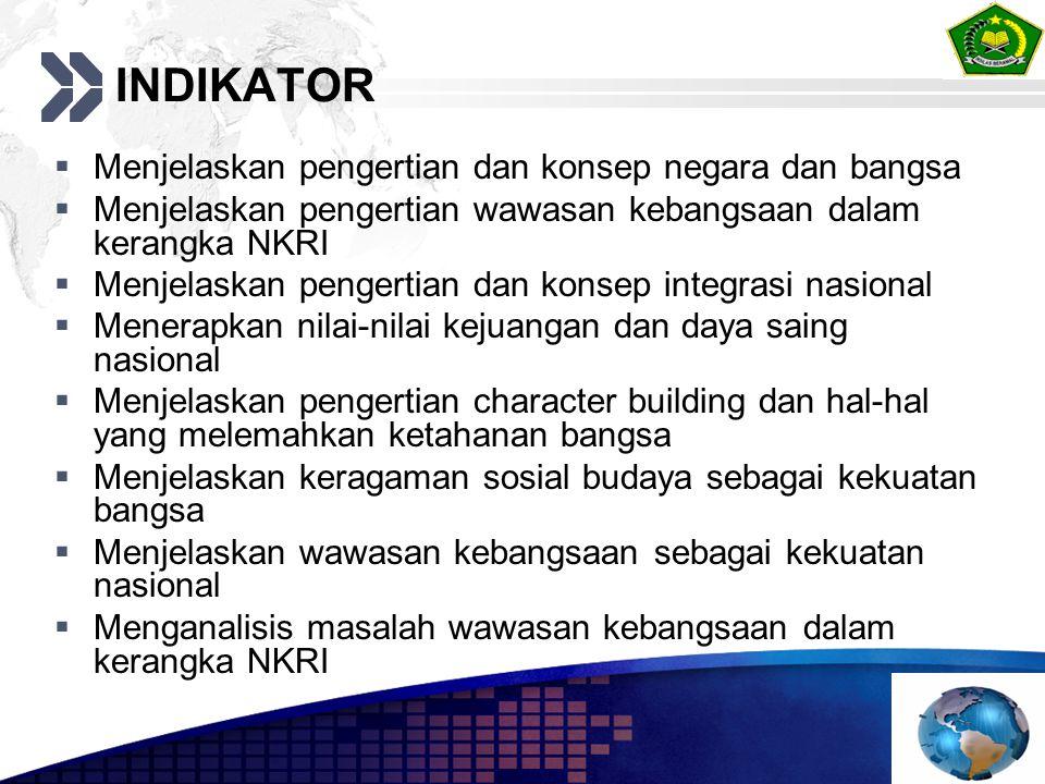 WILAYAH NEGARA Negara Kesatuan Republik Indonesia adalah sebuah negara kepulauan yang berciri Nusantara dengan wilayah yang batas- batas dan hak-haknya ditetapkan dengan undang-undang (Pasal 25A) ** BATAS ZEE BATAS WILAYAH