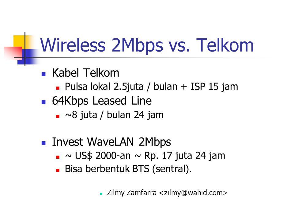 Wireless 2Mbps vs.