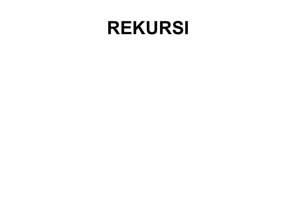 REKURSI