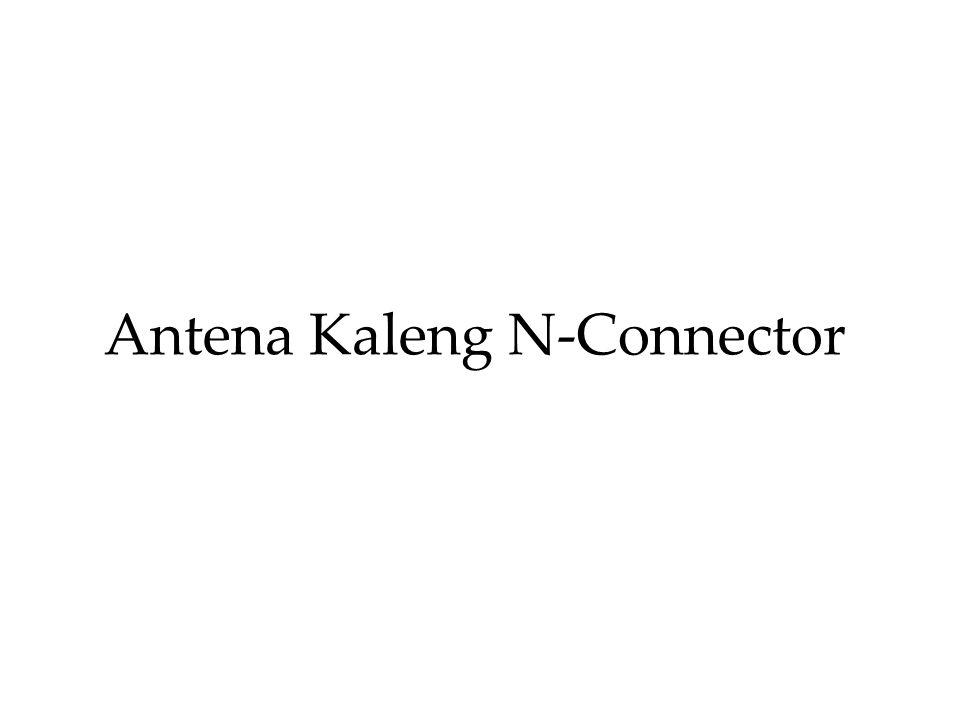 Antena Kaleng N-Connector