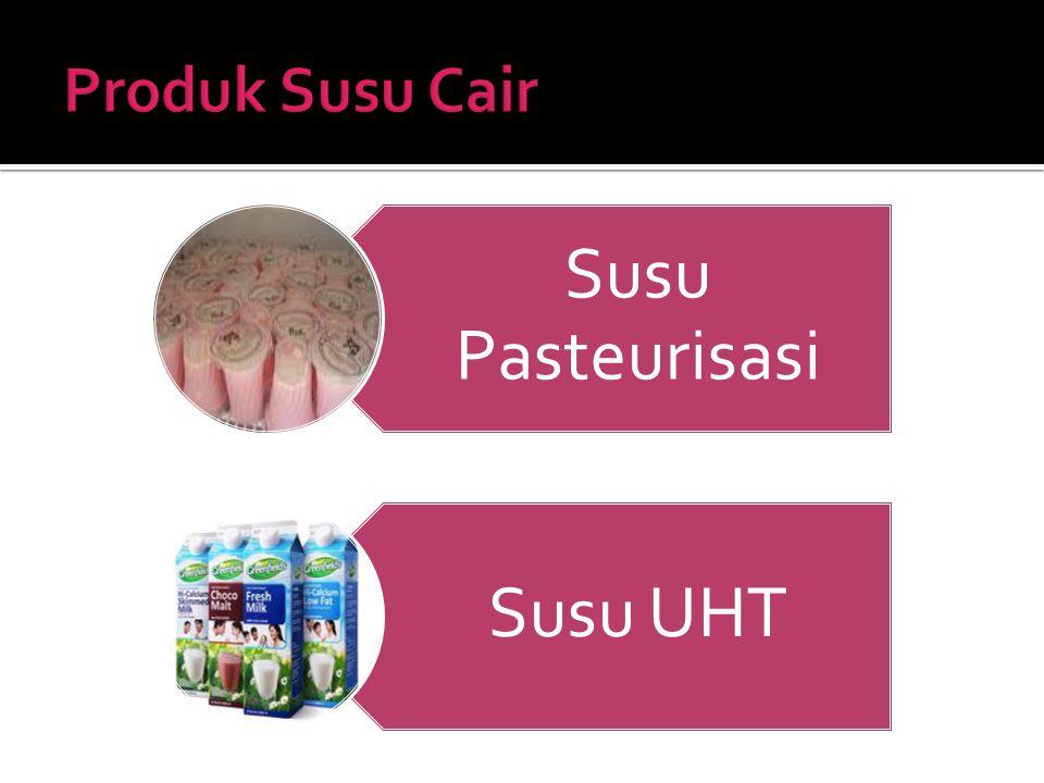 Susu Pasteurisasi Susu UHT