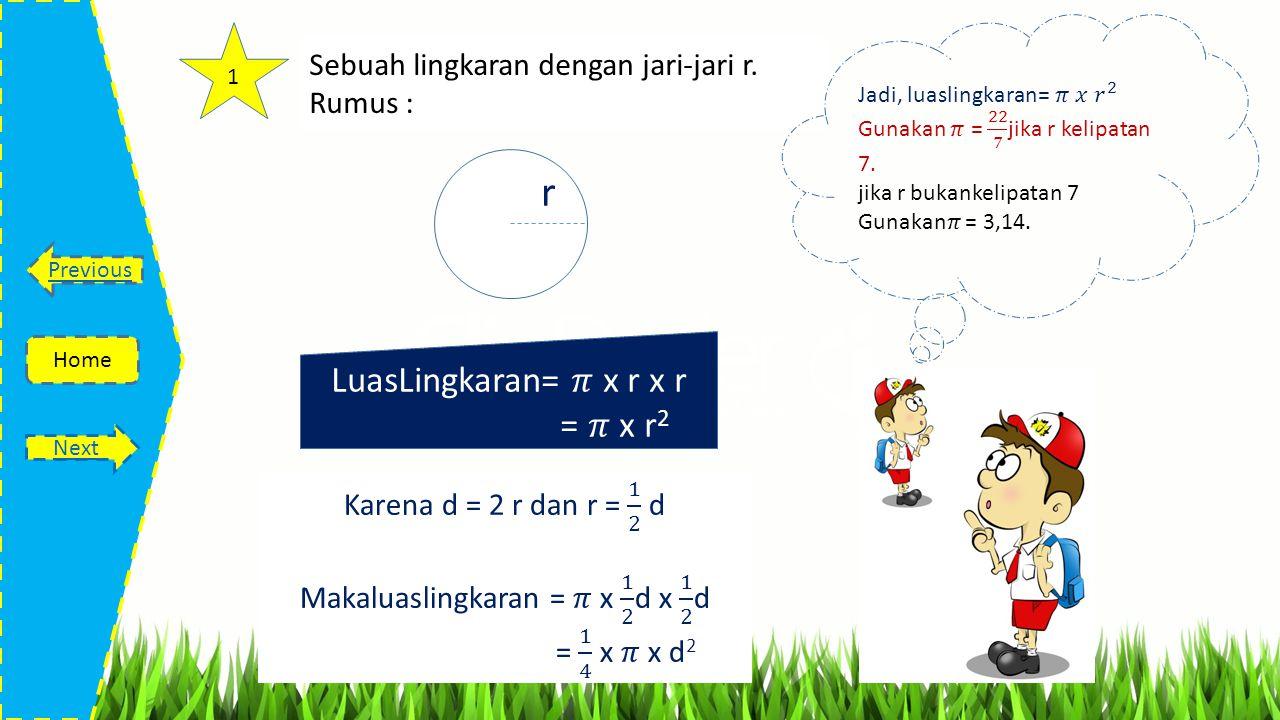 Tujuan Pembelajaran Home Previous Next Sumber bahan ajar: Buku Terampil Matematika 6 untuk SD/MI oleh Tri Handoko tahun 2006