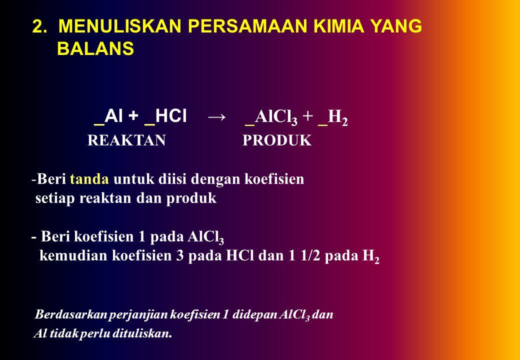Contoh 2.2 Suatu senyawa mengandung 40 % C, 6,67 % H, dan 53,3 % O. Tentukan rumus molekulnya jika Mr =180. Penyelesaian Rumus empiris = C : H : O = 4