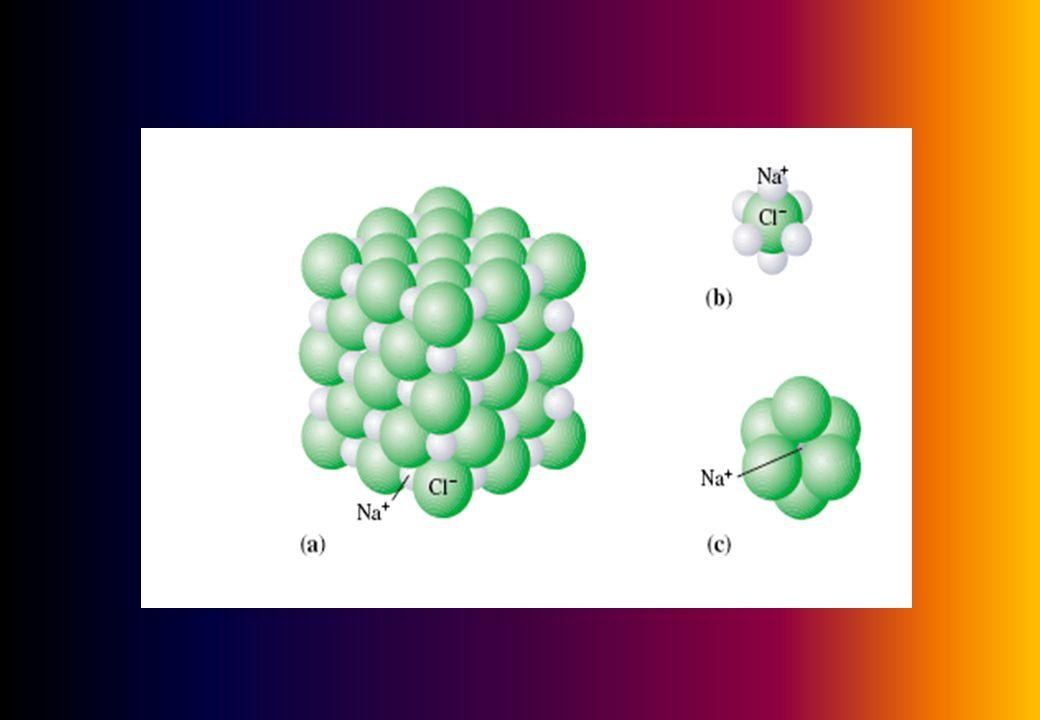 Bagaimana dengan CoCl 2 ? Padatan kobalt(II) klorida Rumus empiris CoCl 2 gaya tarik yang kuat : antar molekul dan antar atom kobalt dan atom klorin k