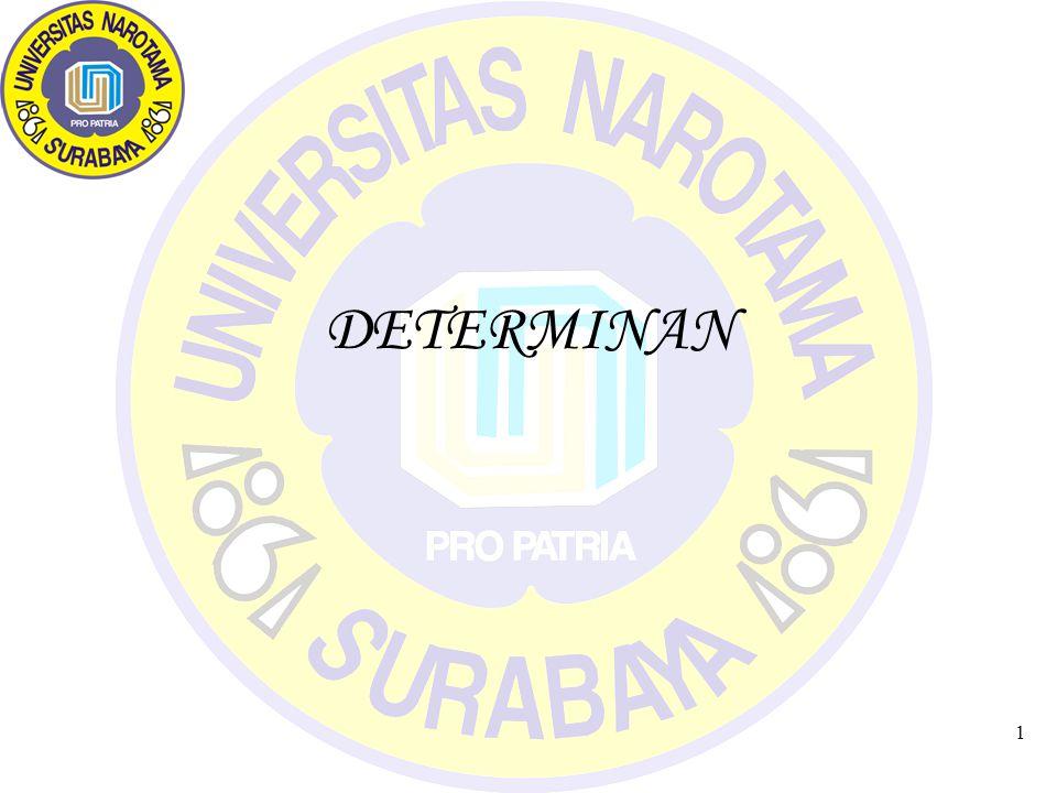 1 DETERMINAN
