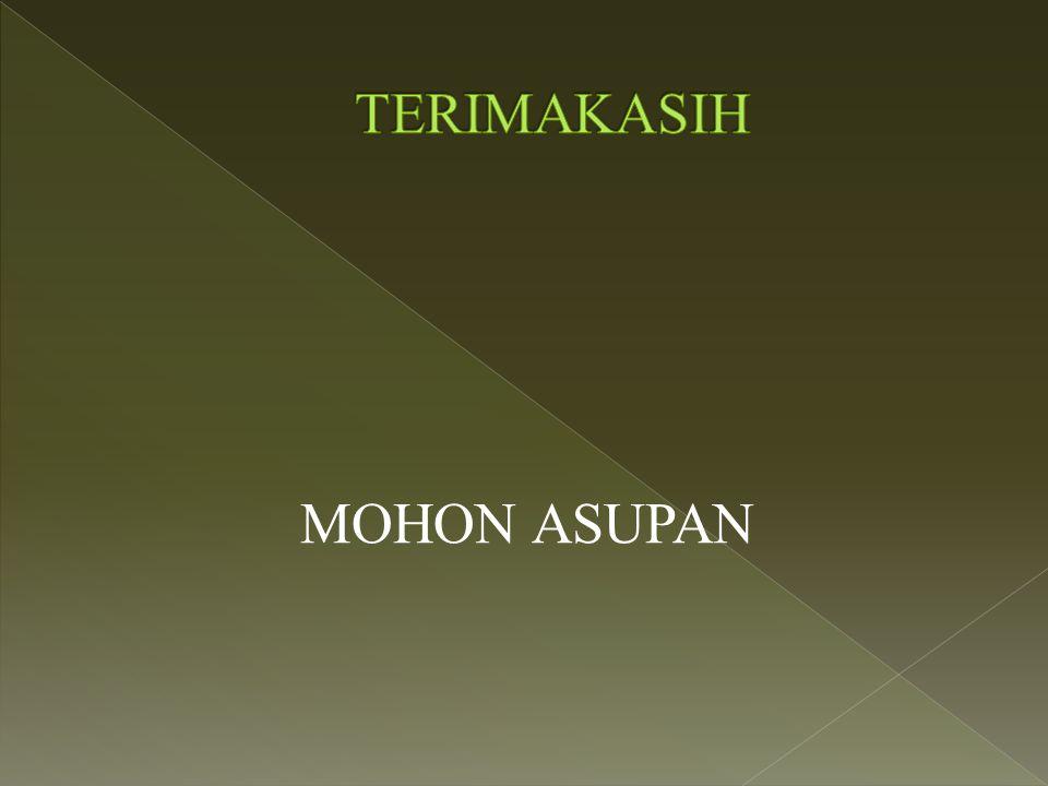 MOHON ASUPAN