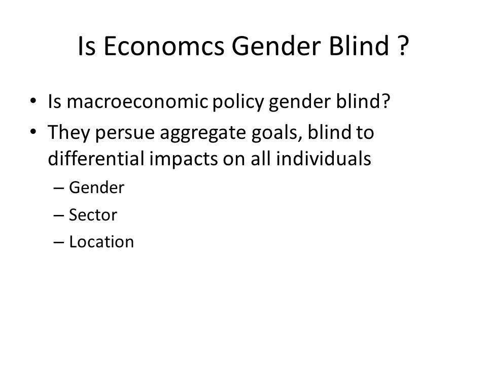 Isu Gender dalam Economi 1.Pelaku ekonomi di masyarakat dapat laki‐laki atau perempuan 2.
