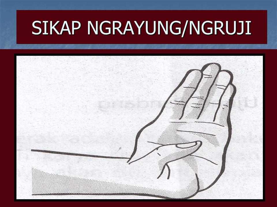 SIKAP NGRAYUNG/NGRUJI
