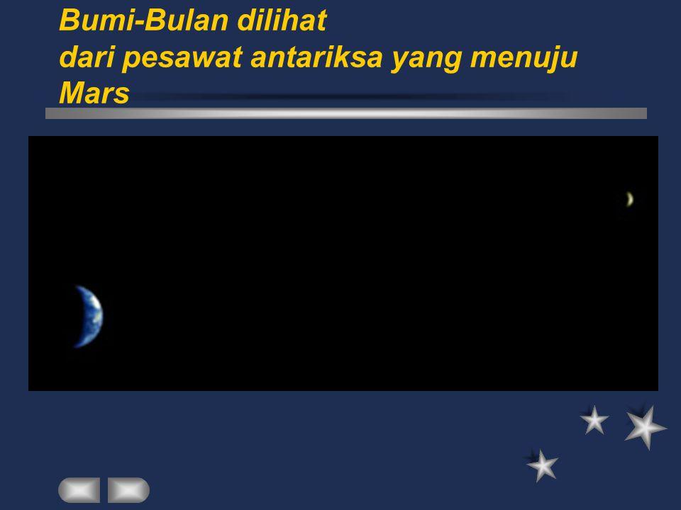 Teori bahwa bulan dan bumi terbentuk bersamaan.