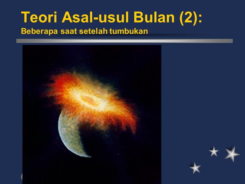 Teori Asal-usul Bulan (2): Beberapa saat setelah tumbukan