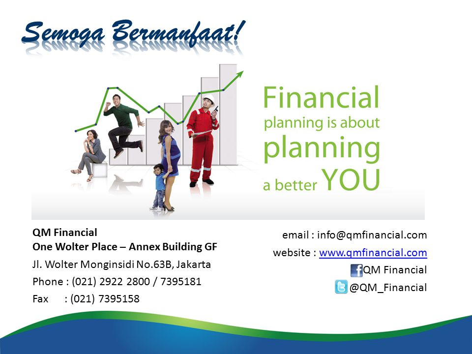QM Financial One Wolter Place – Annex Building GF Jl.