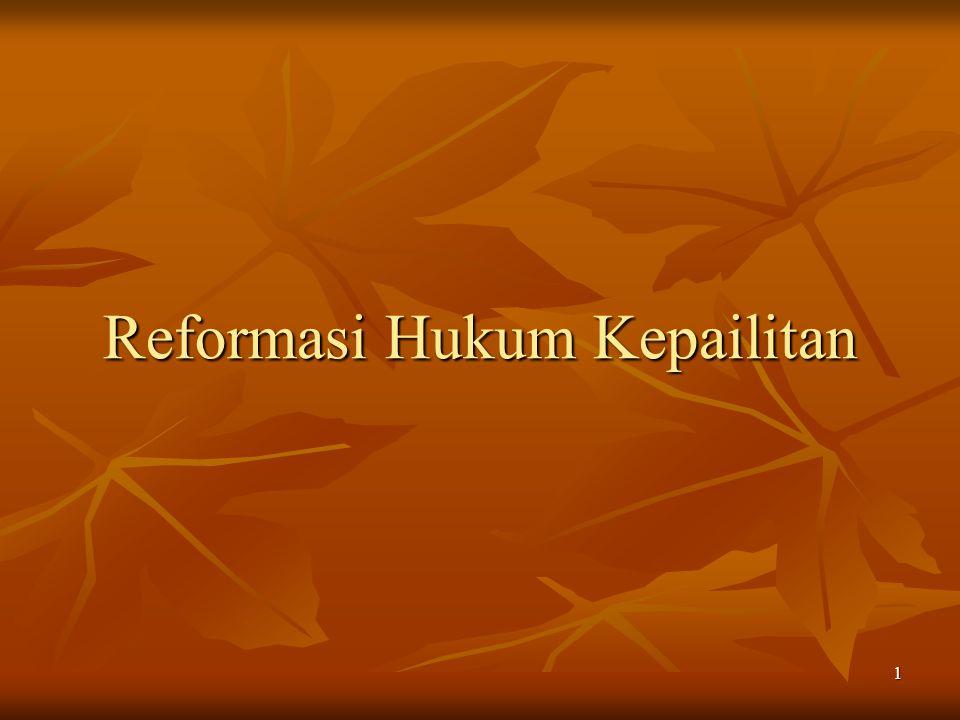 1 Reformasi Hukum Kepailitan